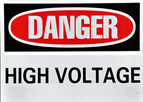 Stay away from high voltage when installing a DIY solar system.