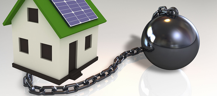 Solar leases, PPAs and leasing company loans are very expensive.
